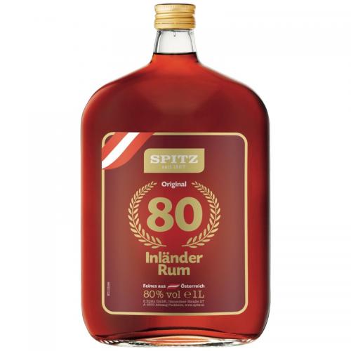 Spitz Inländer Rum 80% Vol.